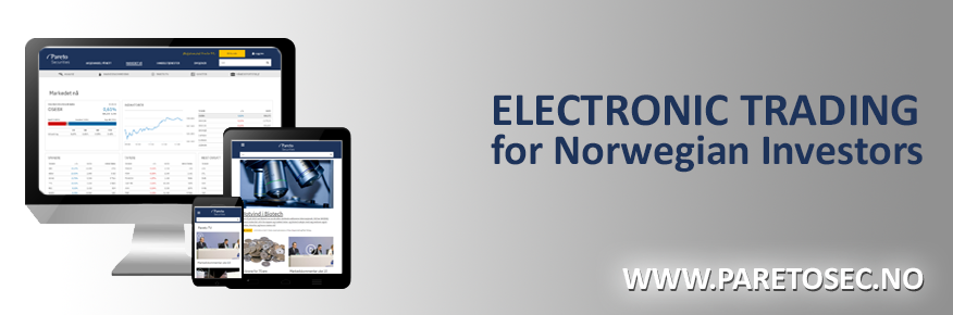 Electronic trading for Norwegian investors